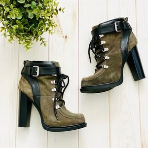 🆕NEW Nine West Smokino Heeled Moto Boots  7.5